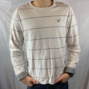 AEO Vintage Fit Long Sleeve Shirt